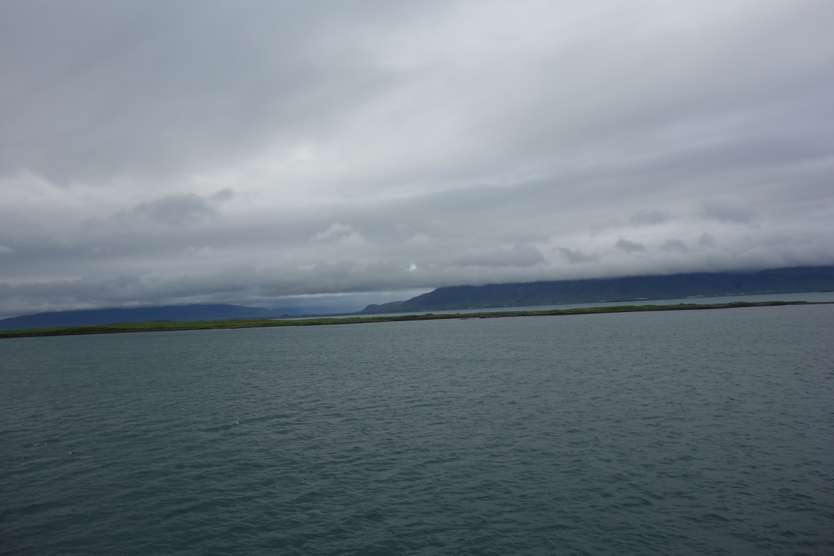 Iceland Trip Day 5: At Sea